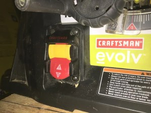 fix a Craftsman table saw that won't turn on