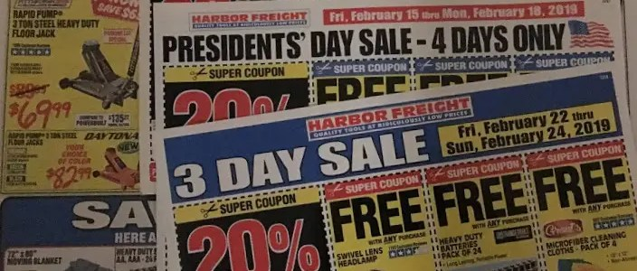 How to coupon Harbor Freight