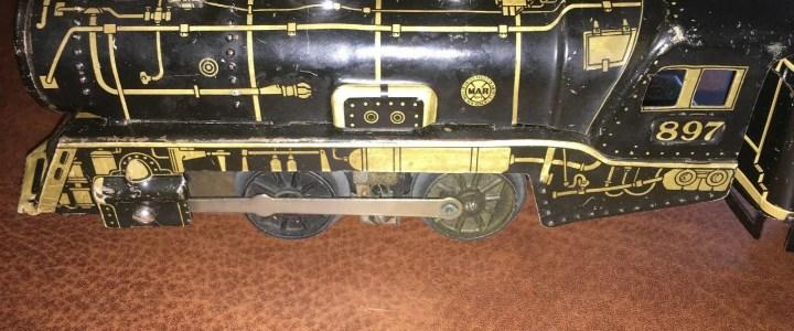 Marx 897 locomotive