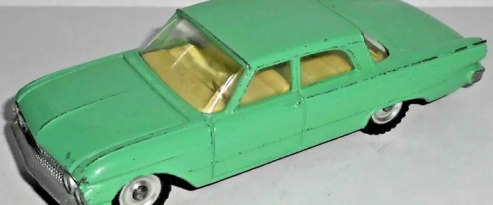 Dinky 1:48 vehicles for O scale