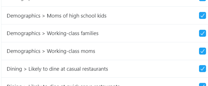 How to view your Twitter inferred interests