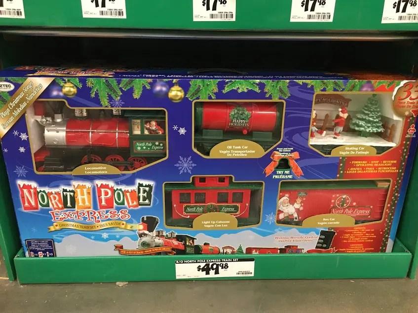 North Pole Express train set
