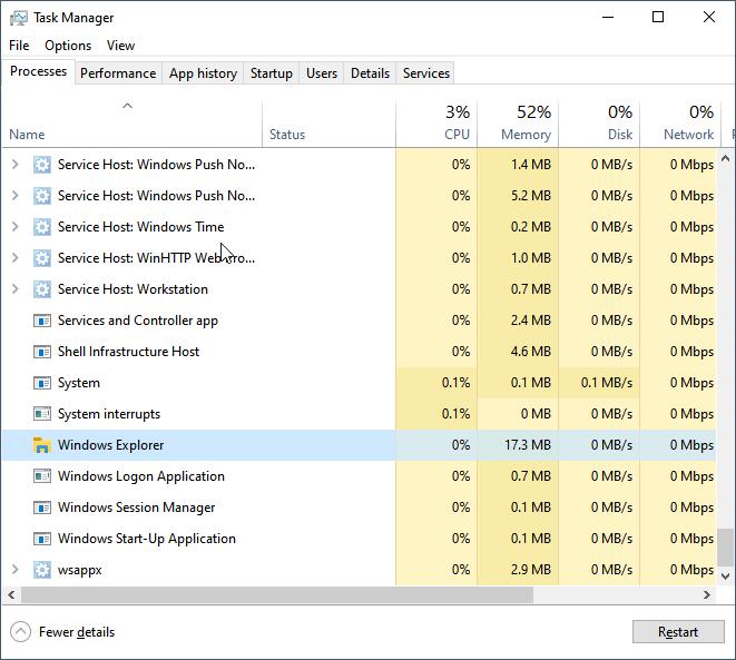 Windows 20 start menu not working