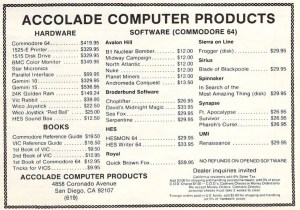 Buying computers in the 1980s