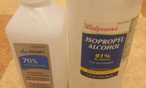 Is isopropyl alcohol the same as rubbing alcohol?