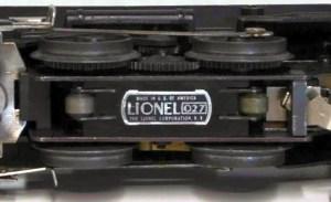 Lionel 2034 motor