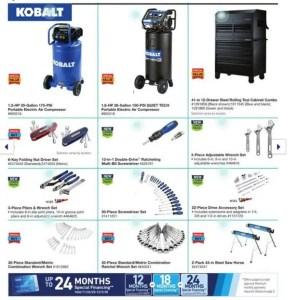 Who makes Kobalt hand tools