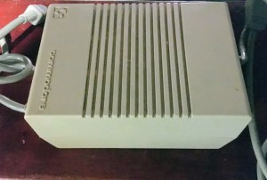 Is the Commodore 128 power supply safe?
