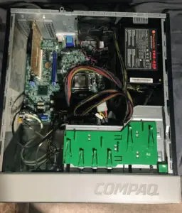 Dell motherboard in ATX case