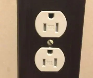 Can't plug into outlet? How to open tamper resistant outlets