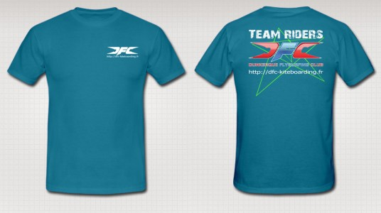 Tee-shirt-LOGO-TR3-Turquoise