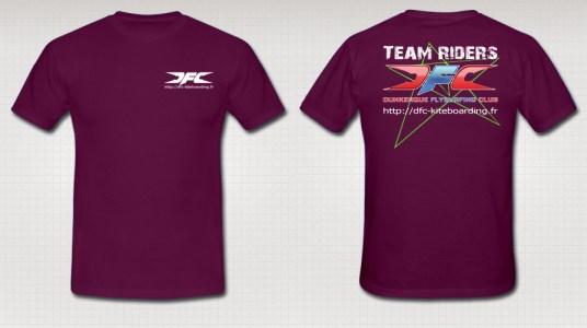 Tee-shirt-LOGO-TR6-Violet