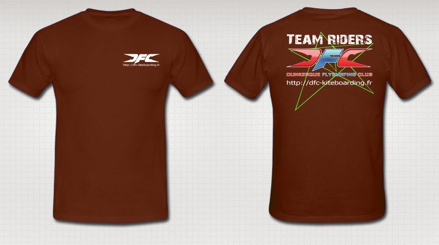 Tee-shirt-LOGO-TR7-Marron