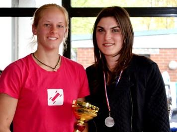 Podium European KLBB Freestyle Women