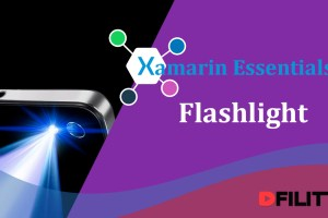 Xamarin Essentials - Construindo um aplicativo de Lanterna (Flashlight)