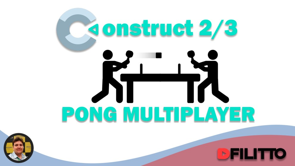 Construct 2 - Pong Multiplayer