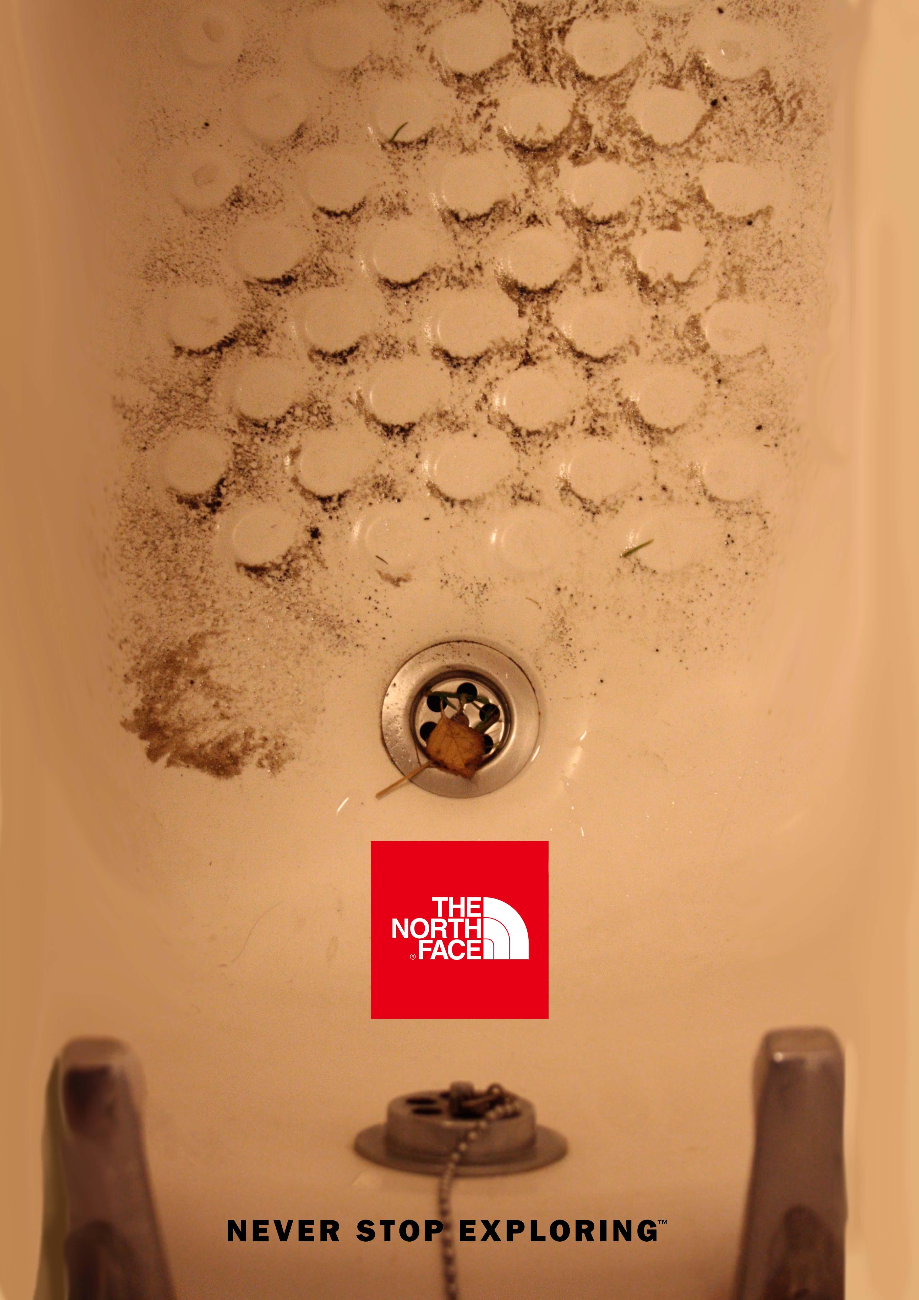 The North Face Shower Gel Poster Dfi Sanjan Sabherwal
