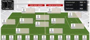 Kaderplanung Kicker Managerspiel