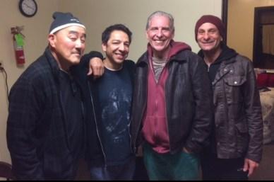 Akira Tana, Mike Clark, Michael Barsimanto