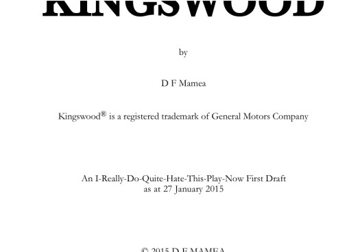 150127  Kingswood — title page