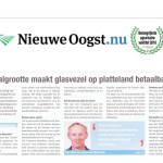 Peter Holkema in Nieuwe Oogst over glasvezel