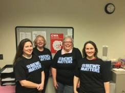 Denver publication producers- Bonnie Yunker, Connie Utley, Paulette Shrefler, Shannon Wills