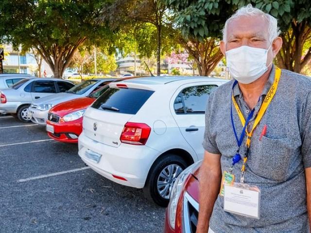 Curso de biolavagem de carros para flanelinhas