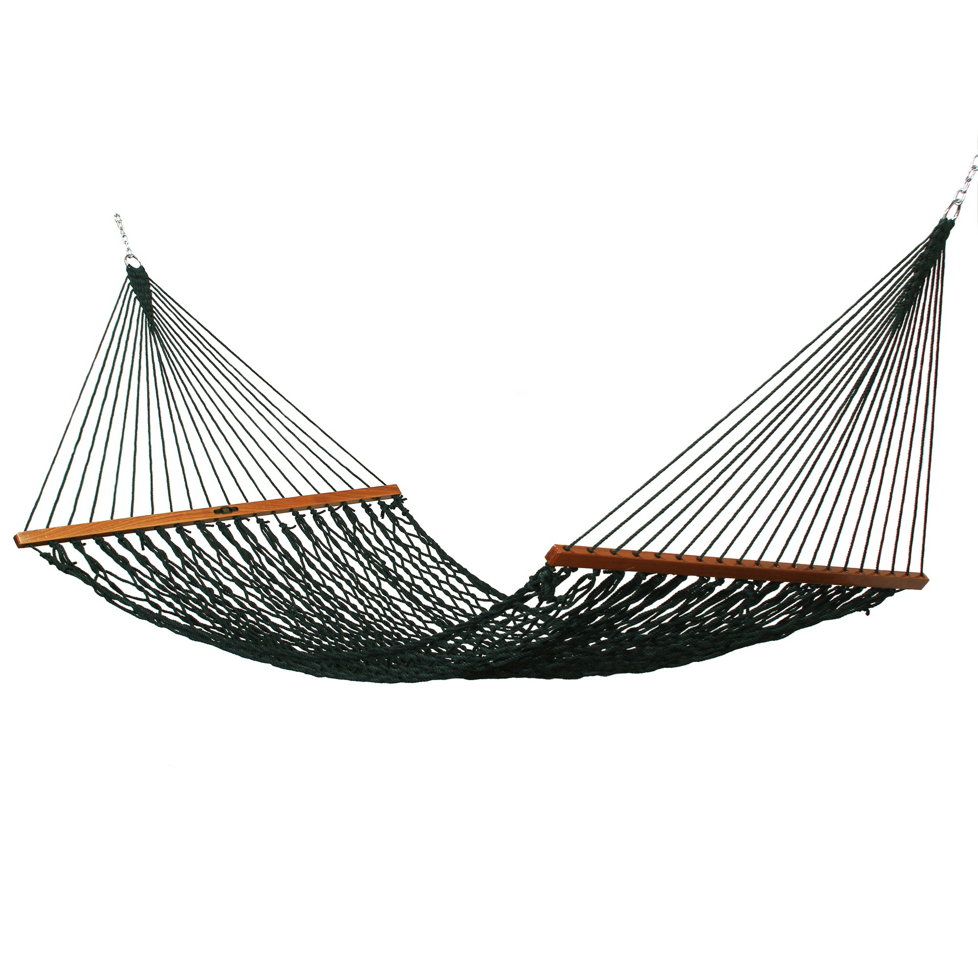 Single Original Green Duracord Rope Hammock