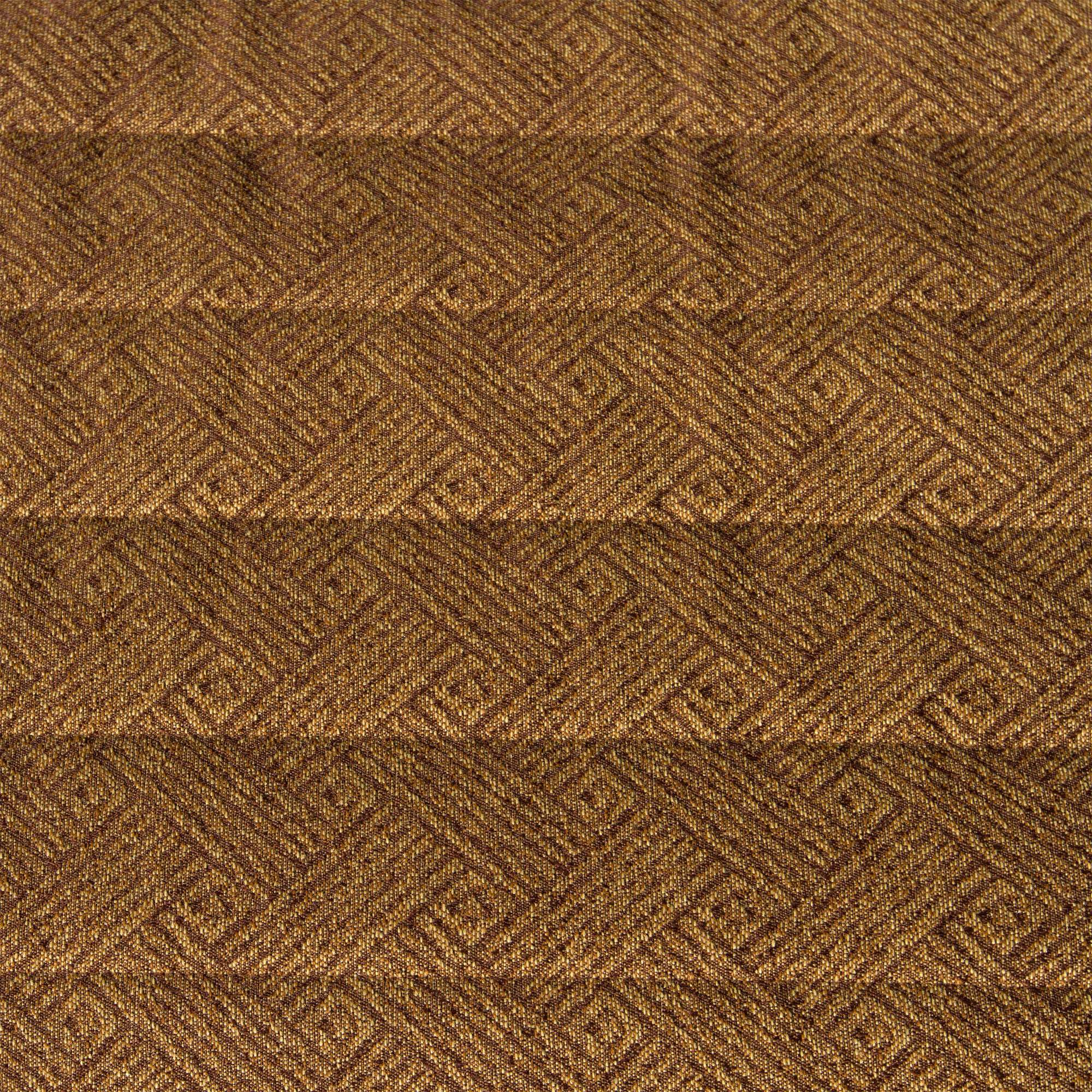 Textured Coffee Brown Quilted Hammock