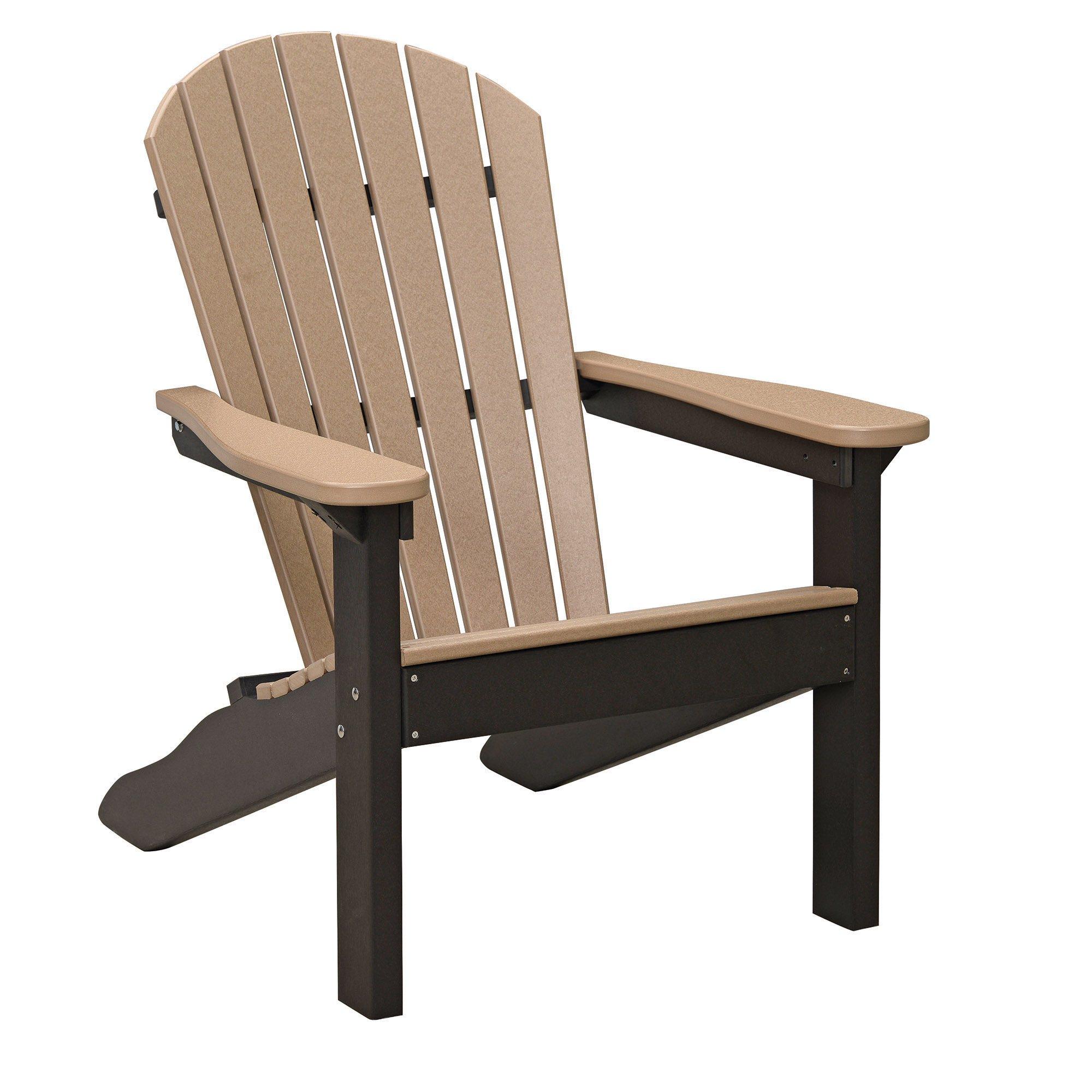 Brown Resin Adirondack Chairs