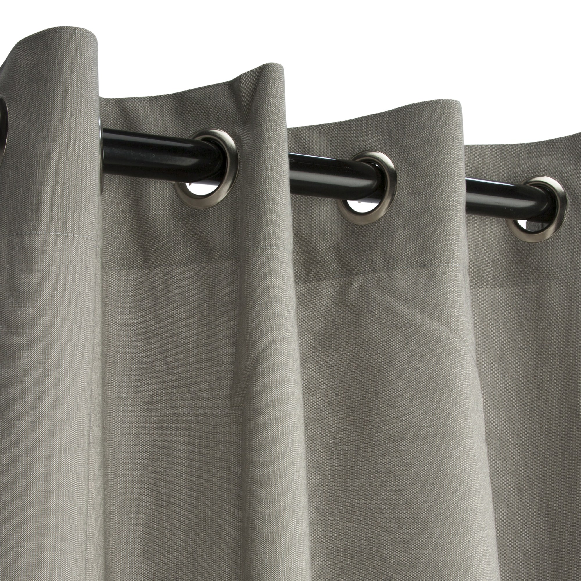 grommeted dove sunbrella outdoor curtains