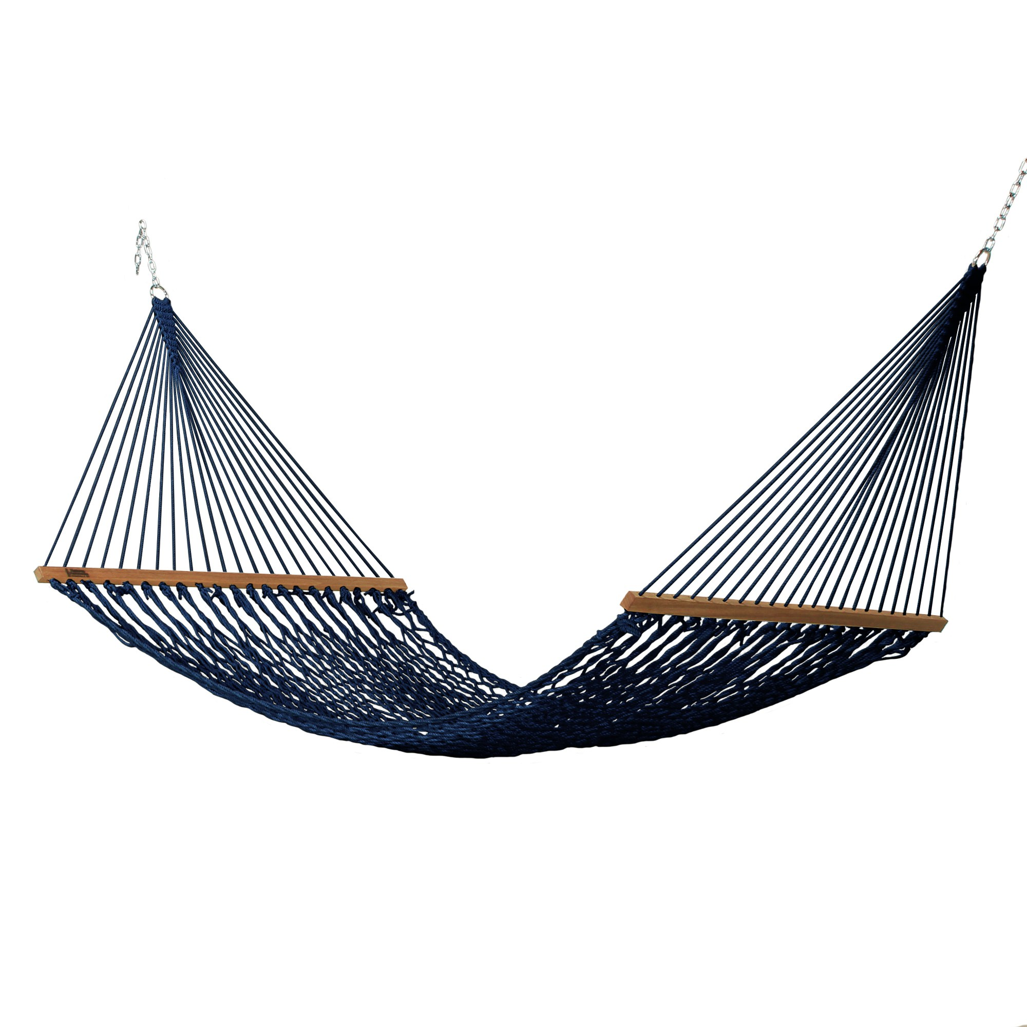 Large Duracord Rope Hammock In Navy
