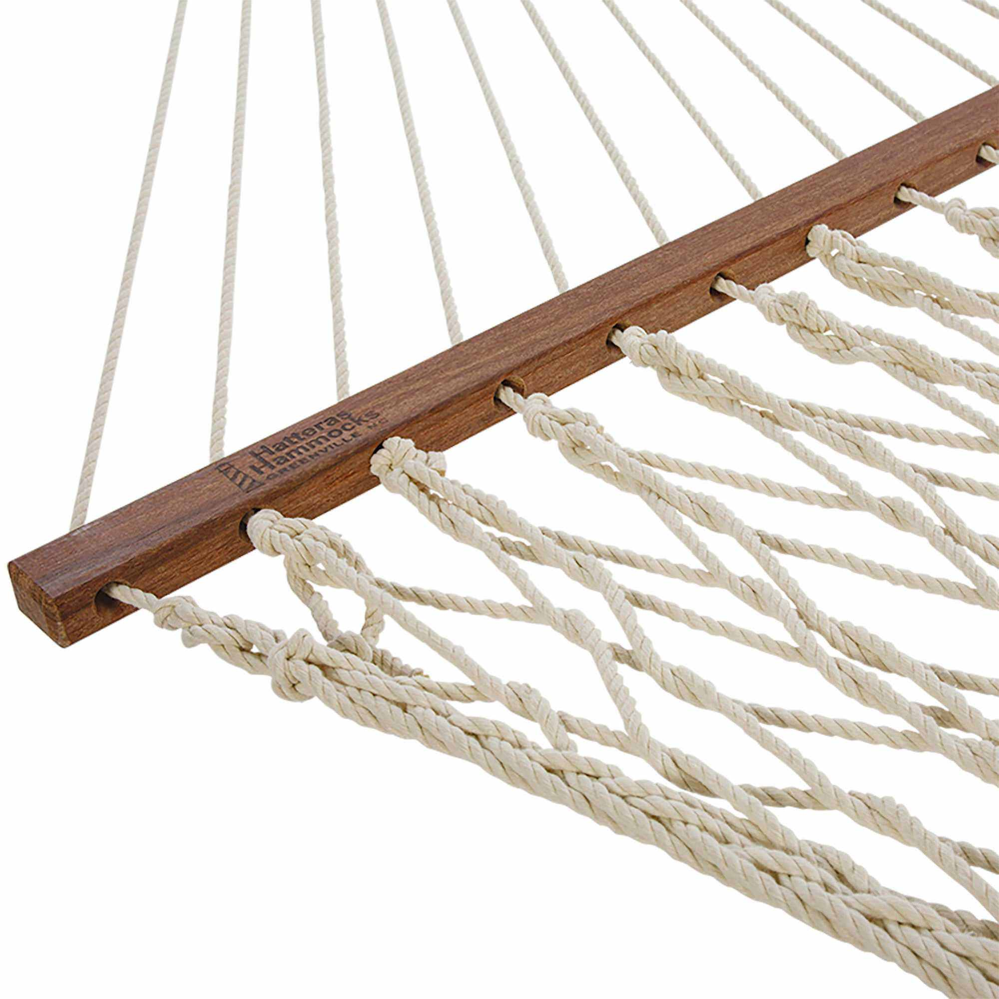Deluxe Duracord Rope Hammock In Oatmeal