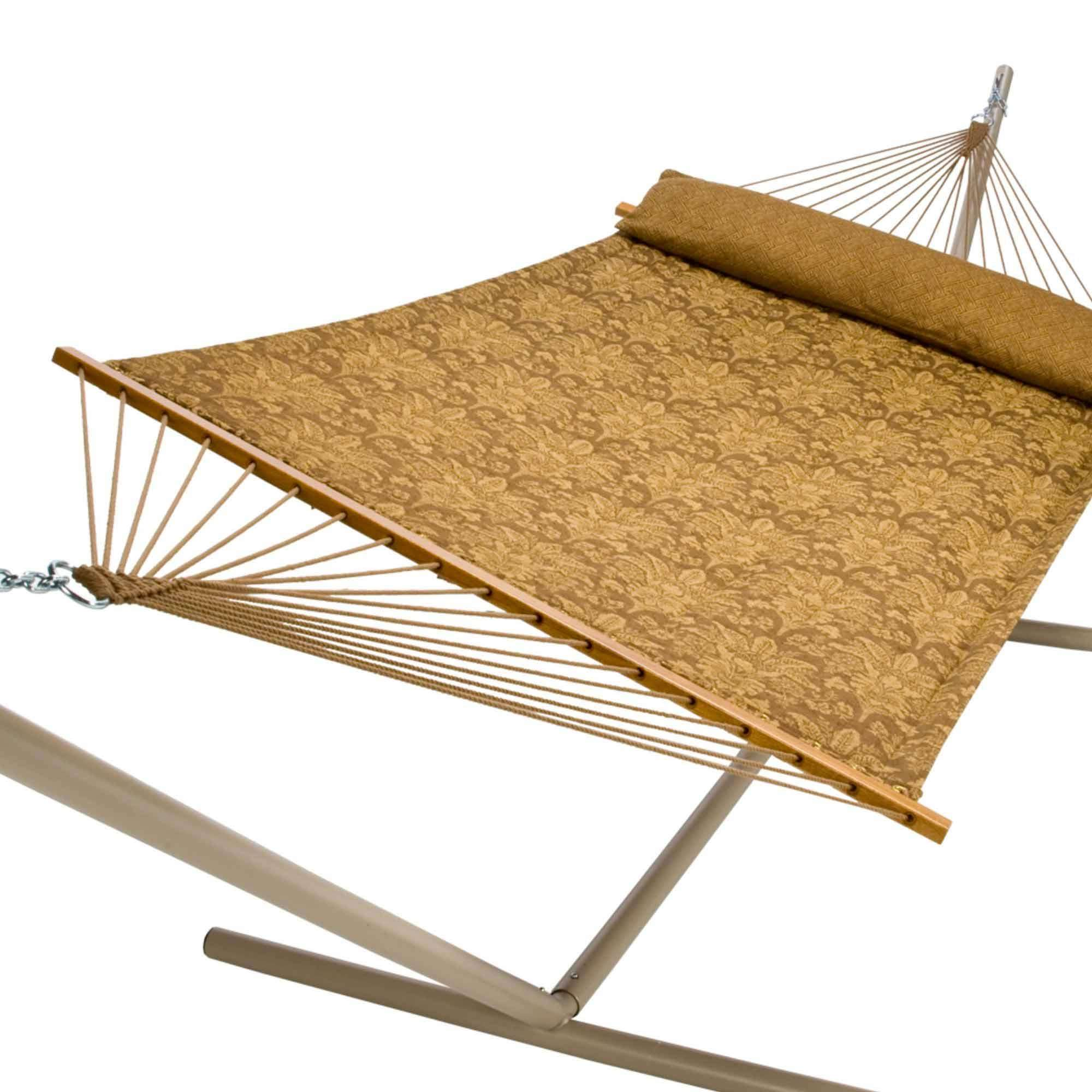 Captain S Line Carmel Wheat Quilted Hammock