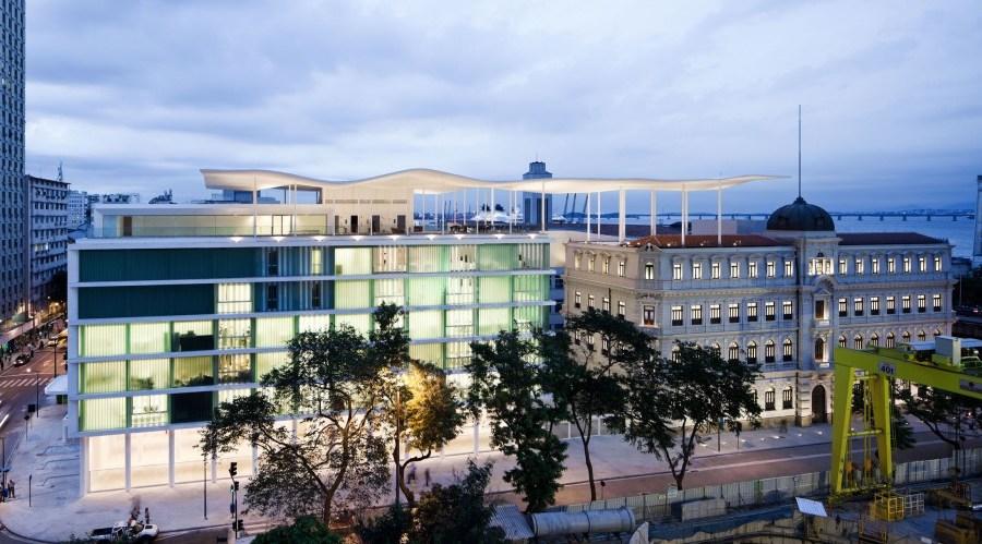 Uma cobertura que une prédios! (MAR) Museu de arte do rio