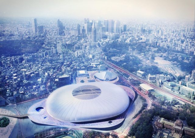 NEW NATIONAL STADIUM JAPAN,TOKYO