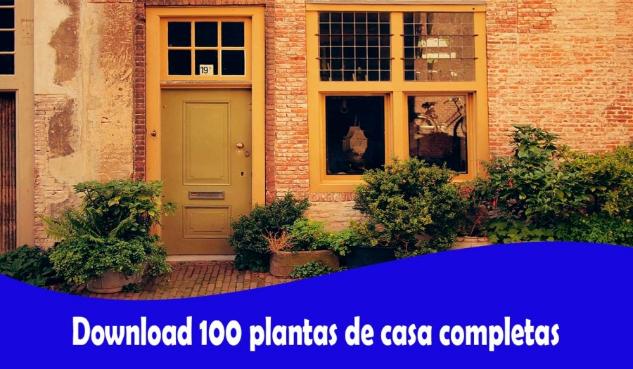 Download 100 plantas de casa completas
