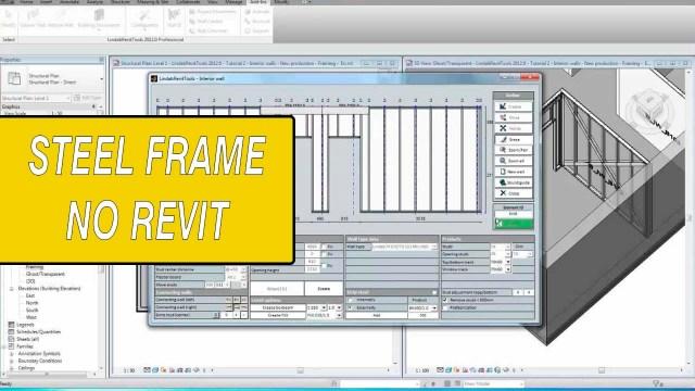 Steel frame revit