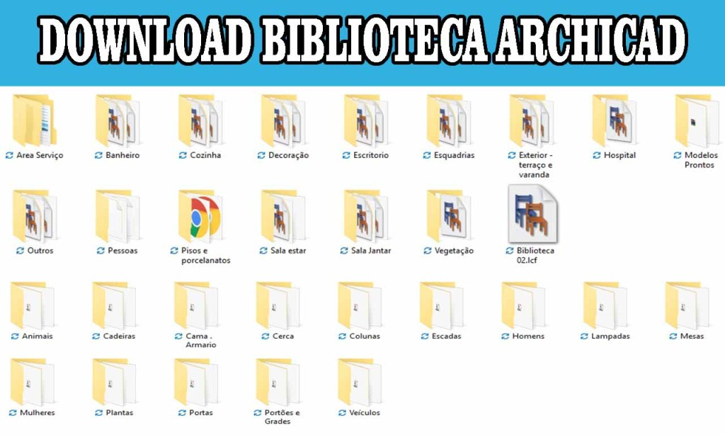DOWNLOAD BIBLIOTECA ARCHICAD