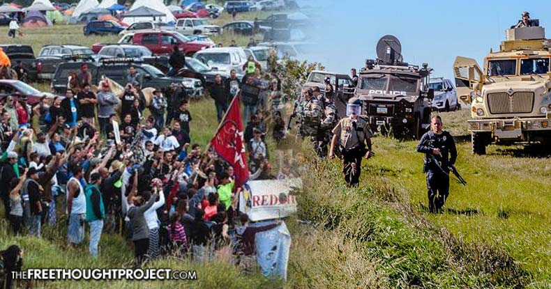 Do we STAND with the Water Protectors at Standing Rock or bow to corporate Dakota Access [DAPL]- rotters of our Planet?