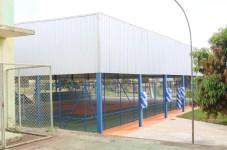 Inauguração da quadra de esporte da Escola Classe 16 Estância Foto : Carlos André ASCOM