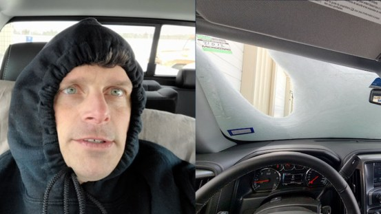 North Texas man living in his car due to hours without electricity at his home – CBS Dallas / Fort Worth