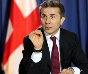 Georgian prime minister Bidzina Ivanishvili. (Press office Photo)
