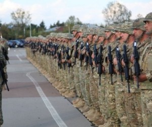 georgian soldiers afghanistan isaf