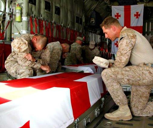 coffins - ISAF Geo May 2013
