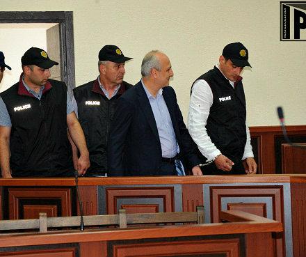 vano merabishvili - handcuffed - 2013-05-22