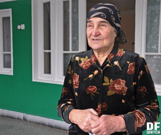 Makvala Margoshvili runs her own tourism business in Duisi (DF Watch)
