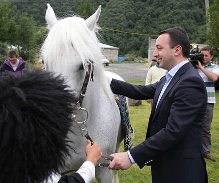 ilia_ii_Irakli_Gharibashvili_horse_Crop