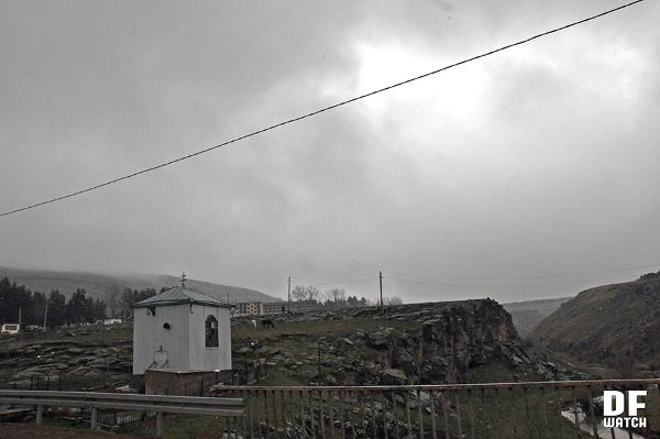 Small Greek chapel