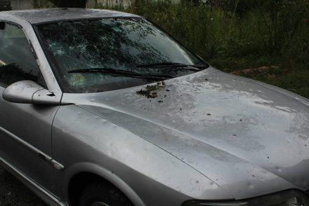Hailstorm in Kakheti (Kvareli Municipality)